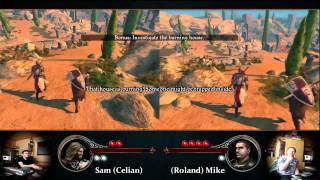 The First Templar Gameplay/Review - Sam (Celian) & Mike (Roland)