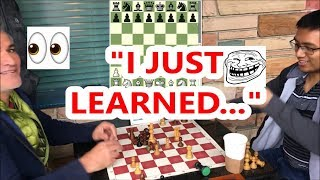 Chess Master Pretends To Be A Beginner! (The Ultimate Hustle!)