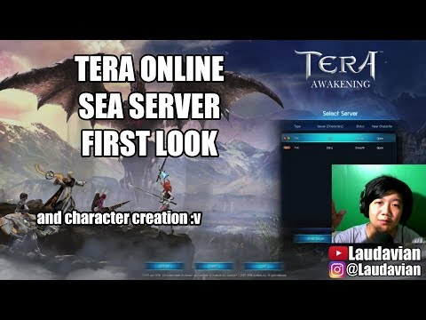 FIRST LOOK TERA ONLINE SEA (Free To Play Online MMORPG) - Indonesia