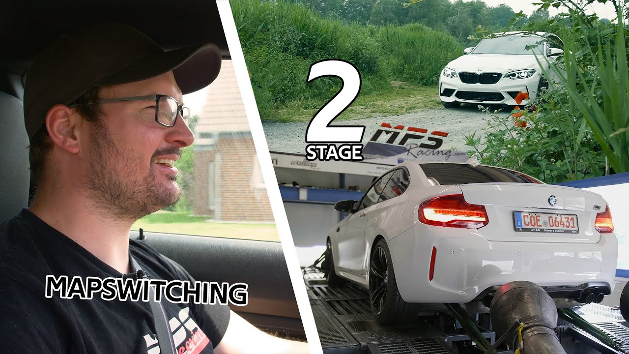 BMW M2 Competition - Stage 2, Mapswitching & Zeiten messen - MPS Engineering