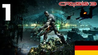 Let's Play Crysis 3 German Part 1 Tutorial Deutsch HD Gameplay Walkthrough 1080p