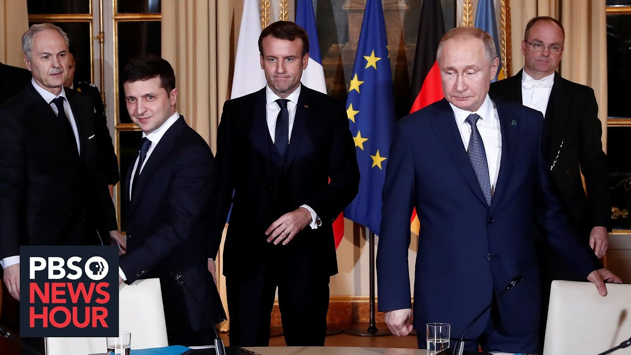 News Wrap: Putin and Zelensky have 1st one-on-one meeting