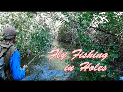 fly-fishing-in-holes-|-técnicas-de-pesca-a-mosca-seca-en-ríos-pequeños