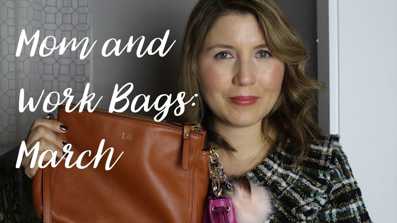 Lo & Sons | What's In My Mom & Work Bags for March 2017 - YouTube
