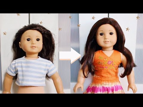 FIXING UP AN OLD AG DOLL!! | Restoring Jess Goty 2006