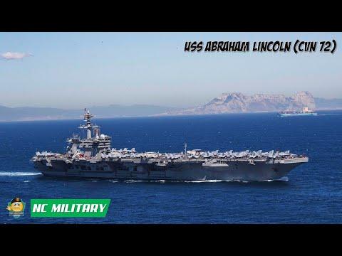 USS Abraham Lincoln (CVN-72) Enters The Persian Gulf (Arabian Sea)