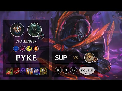 Pyke Support vs Bard – EUW Challenger Patch 10.16