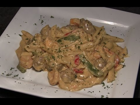Cajun Shrimp Sausage Pasta Recipe How To Make One