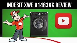 Indesit Front Loading Washing Machine, 9 KG, Silver - XWE 91483X