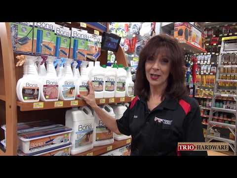 Bona Floor, Cabinet and Furniture Cleaning products with Marie!