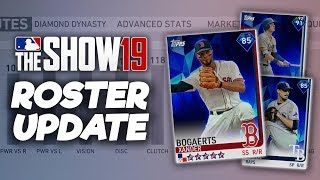 BOGAERTS & MORTON to DIAMOND! July 19th Roster Update! MLB The Show 19 Diamond Dynasty