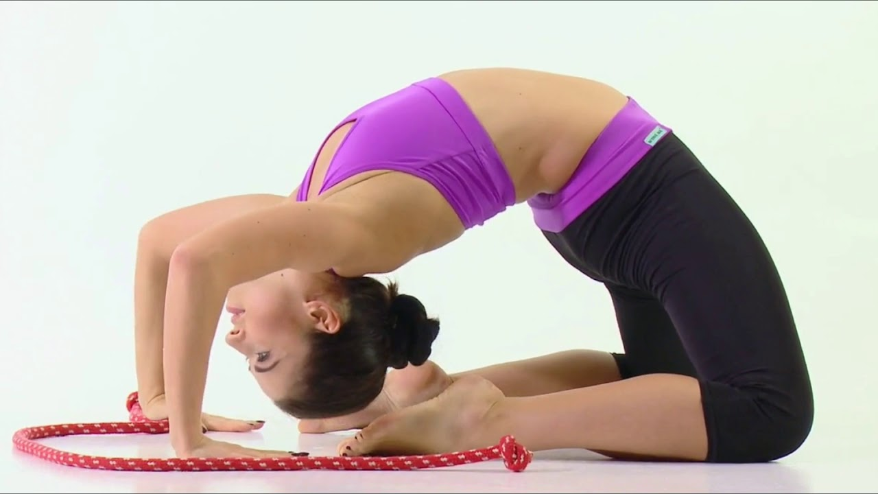 Hot Exercise Workout Stretching Splits ! Hot Exercise