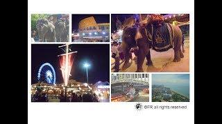 【旅遊景點】泰國-曼谷.芭達雅六日旅遊[古城76府.水上市場.大象餵食.潑水節.高空滑樓.人妖秀]-實境側錄