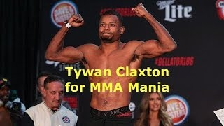 Tywan Claxton Interview Before Bellator 212