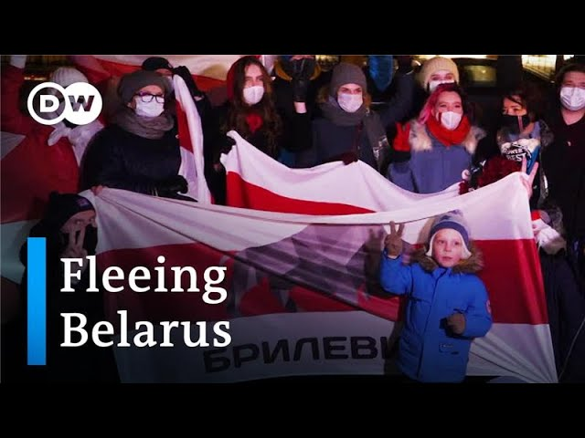 Belarusian activists find refuge in Lithuania   DW Documentary