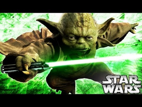 How yoda became a jedi star wars explained youtube for Star wars kuchenutensilien