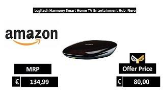 Logitech Harmony Smart Home TV Entertainment Hub, Nero