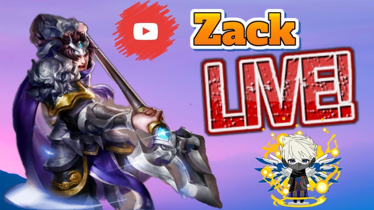 Zack 的 傳說對決 直播 !! Ft.小翊 - YouTube