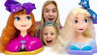 Nastya dan Maggie Mainan Baru untuk Putri
