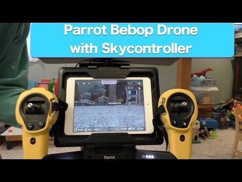 Parrot Bebop Drone with Skycontroller Review - Part 1