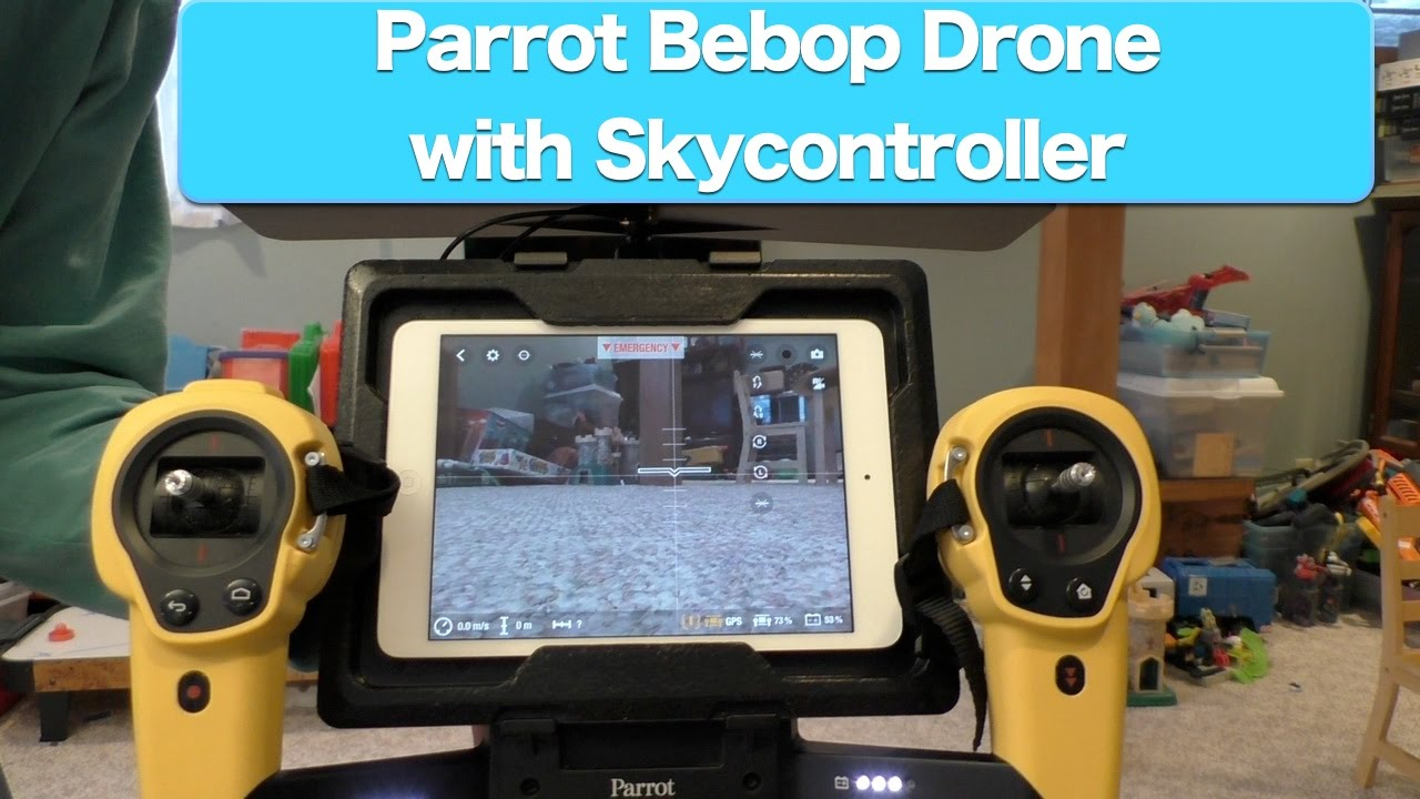 Parrot Bebop Drone With Skycontroller Review Part 1
