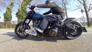 Harley-Davidson Basel presented Breakout2017blueskull