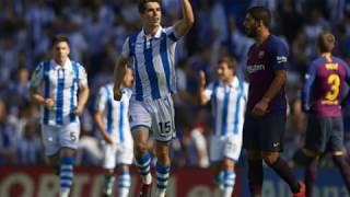 Download Video Falanqeynta Real Sociedad &  Barcelona, Barcelona oo guul soo laabasho leh gaartay MP3 3GP MP4