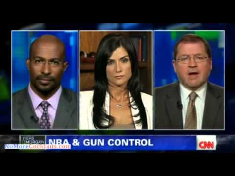 Dana Loesch rips Leftist Piers Morgan and Commie Van Jones on gun control