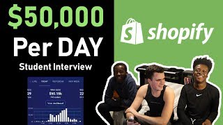 Baixar *CRAZY* $50,000 per DAY Dropshipping Student Interview