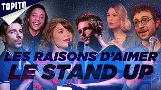 Top 5 des raisons d'aimer le Stand-Up