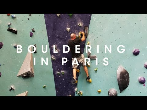 Bouldering in Paris - And Horse Meat Tacos at Last