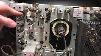 Siemens Röhrenfernseher von innen (1960)