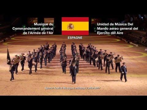 Saumur Festival Musiques militaires 2017-Espagne