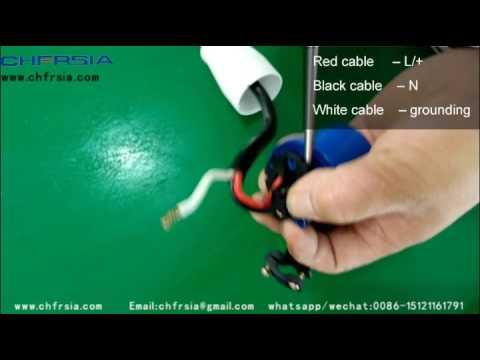 3p Industrial Plug Wiring Demonstration