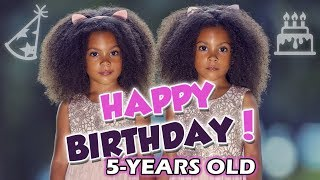 AVA & ALEXIS ARE 5! HAPPY BIRTHDAY TWINS!