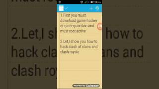 How To Hack Clash Of Clans And Clash Royale Use Game Hacker And Gameguardian(need Root)