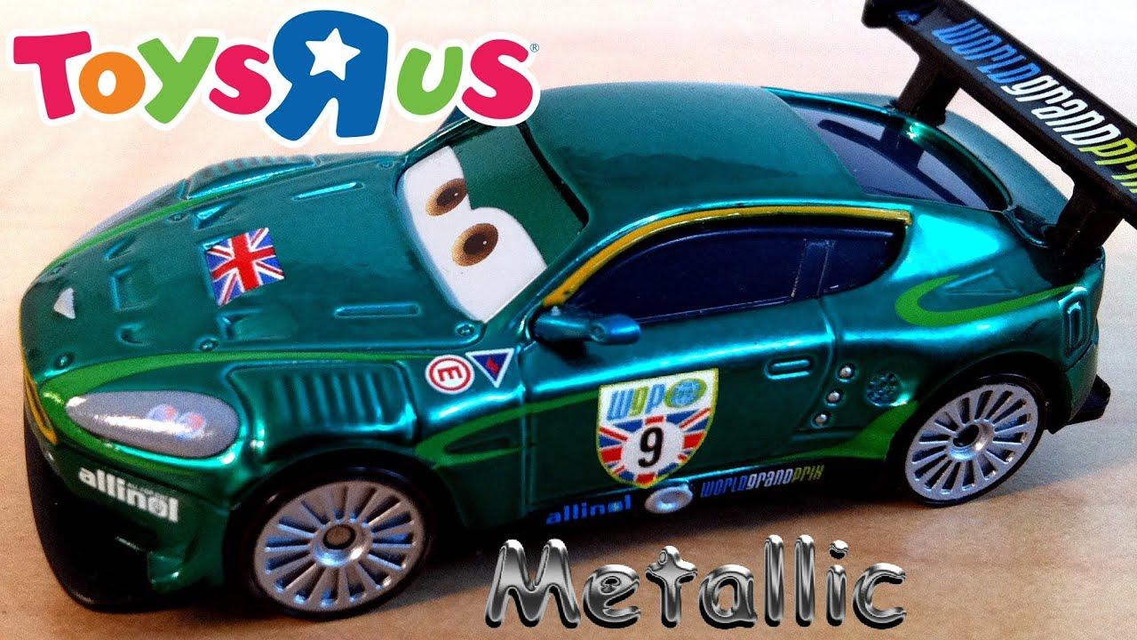 Metallic Nigel Gearsley Diecast Toysrus Tru Disney Mattel
