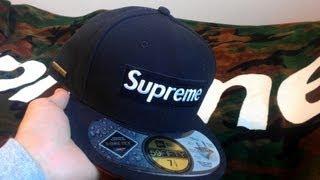 ac1c1b9a4fe36 Supreme Gore-Tex Black New Era Fitted Review Fall Winter 2013 Box Logo  Goretex ...
