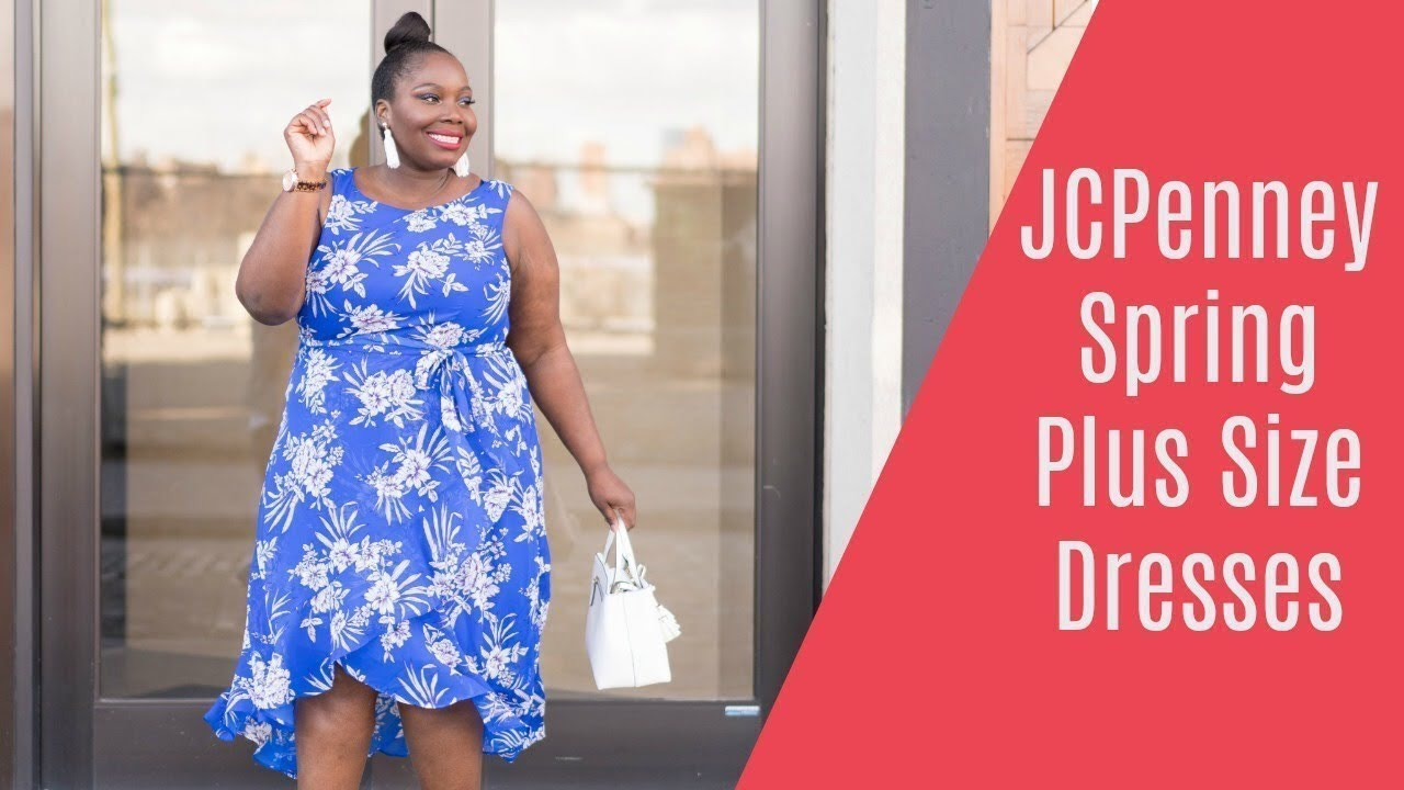 JCPenney Plus Size Spring Dresses Haul