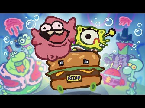 "The Ultimate ""Spongebob Squarepants Movie"" Recap Cartoon"