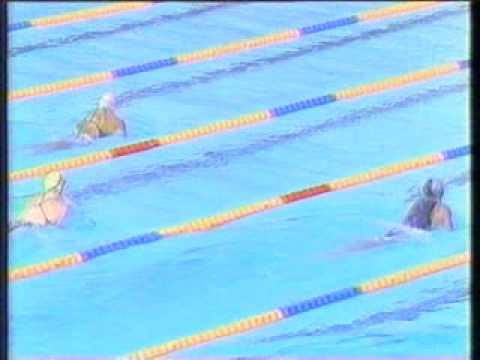 Lin Li vs Summer Sander Final 200m CI Barcelo 92