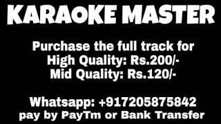 Kaabil Hoon   KAABIL   Karaoke Track   Mid & High Quality  Sample