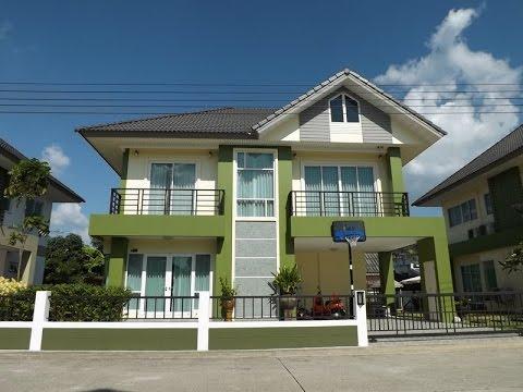 บ้านเช่ามีนบุรี บ้านใหม่ ให้เช่าถูก พร้อมเฟอร์นิเจอร์ หมู่บ้านกรีนลีฟ ใกล้การไฟฟ้ามีน