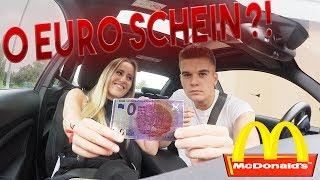 McDonalds PRANK | MIT 0 EURO SCHEIN BEZAHLEN
