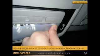 Opel Astra J Aydınlatma Sistemleri Değişimi Nasıl Yapılır. Car interior led lights