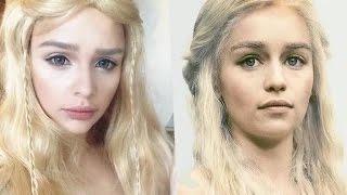 MW  МОЯ ТРАНСФОРМАЦИЯ  Игра Престолов  Дэйнерис  daenerys makeup transformation game of thrones