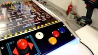 "Arcade Cocktail Table  "" Slim Line"" Jamma Game Classics"