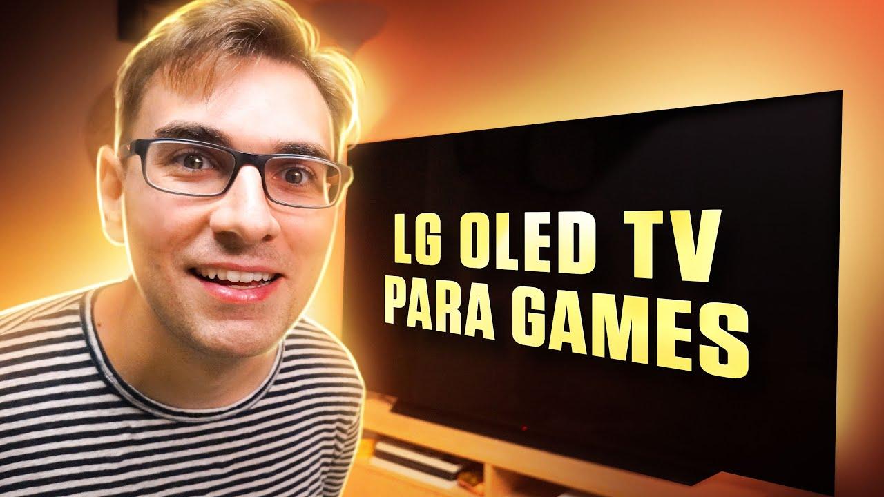A Nova MELHOR TV para Games em 2021   LG OLED TV C1 - 4K 120Hz HDR
