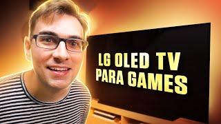 A Nova MELHOR TV para Games em…