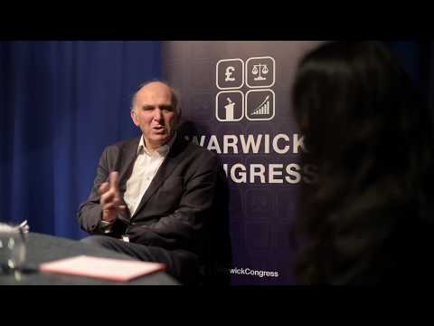 Sir Vince Cable's Interview at Warwick Congress 2017